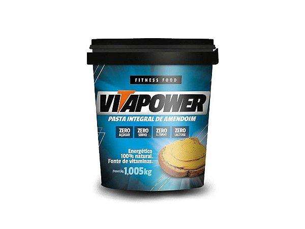 Pasta de amendoim Integral 1kg Vitapower