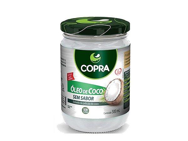 Óleo de Coco Sem Sabor 500ml Copra