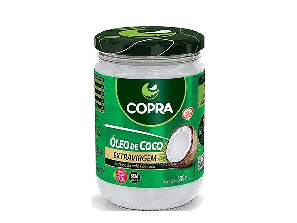 Óleo de Coco Extravirgem 500ml Copra