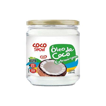 Óleo de Coco Extra-virgem Coco Show 200ml