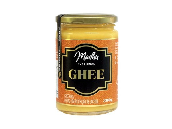 Manteiga Ghee 300g Original Clarificada Madhu