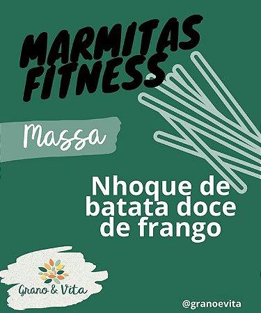 Nhoque de batata doce de frango - Marmita Fitness Grano & Vita