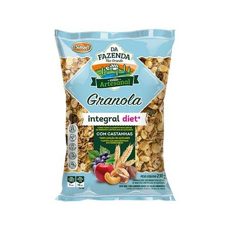 Granola Integral com Castanhas Diet Biosoft 1kg