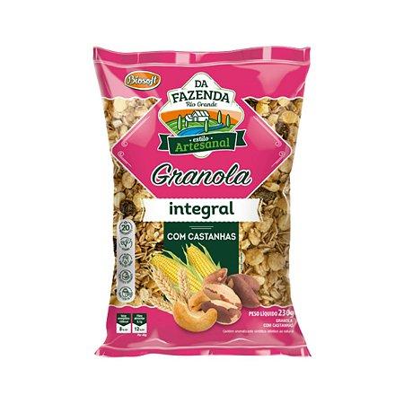 Granola Integral com Castanhas Biosoft 1kg