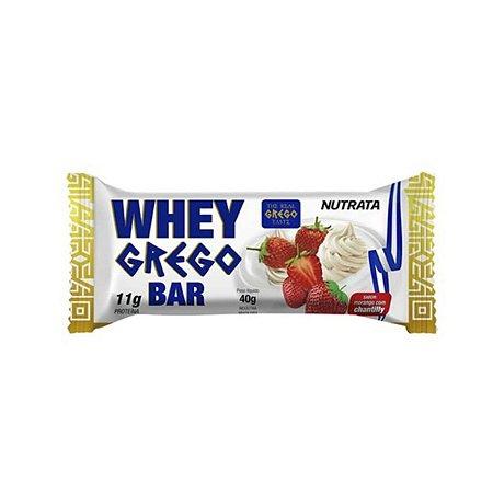 Whey Grego Bar Chantilly Nutrata