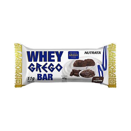 Whey Grego Bar Brigadeiro Nutrata
