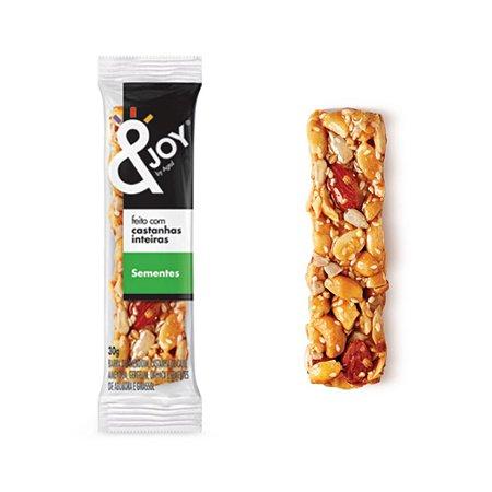 Barra Mixed Nuts Sabor Sementes &joy 30g