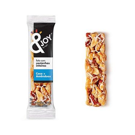 Barra Mixed Nuts Sabor Coco e Amêndoas &joy 30g