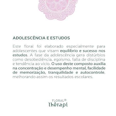 Florais de Bach Adolescência e estudos - Floral Therapi 30ml