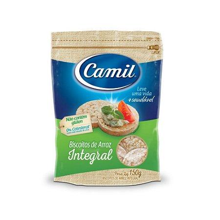 Mini biscoito de arroz Camil 150g