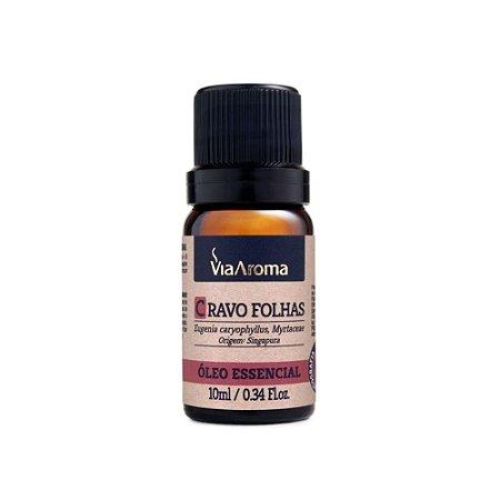 Óleo essencial Cravo Folhas Via Aroma 10ml