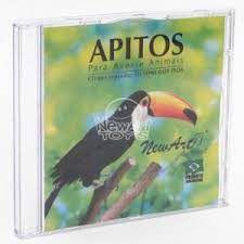 CD com som de aves/ animais silvestres 24 sons (Todas as idades)