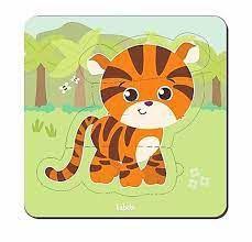 Quebra-cabeça Baby Tigre (12 meses+)