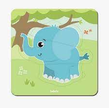 Quebra-cabeça Baby Elefante (12 meses +)
