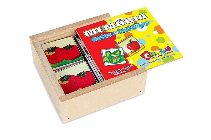 Memória Frutas e Hortaliças (3 anos+)