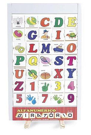 Alfabeto Alfanumérico Giratório (4 anos+)