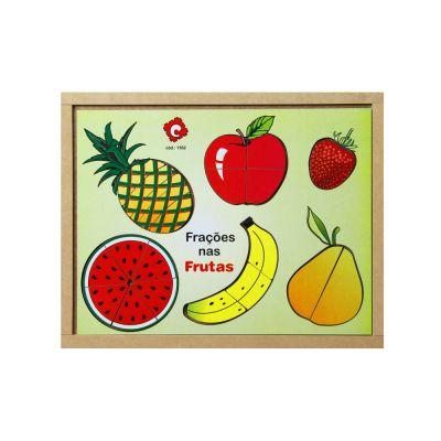 Frações nas Frutas em MDF (4 anos+)