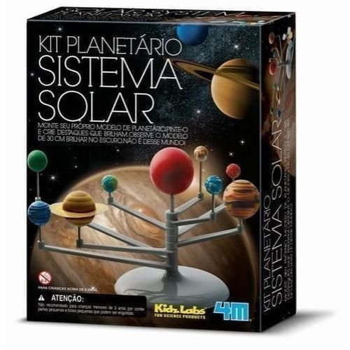 Kit Planetário Sistema Solar (8 anos+)