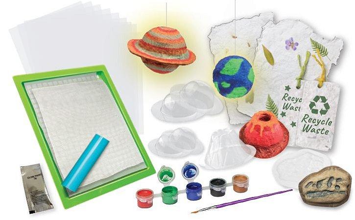 Reciclagem Divertida: Paper Making (5 anos+)