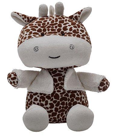 Bicho de Pelúcia Amiguinhos da Floresta Girafa