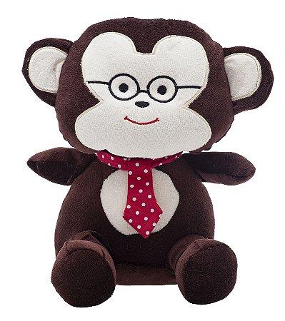Bicho de Pelúcia Amiguinhos da Floresta Macaco