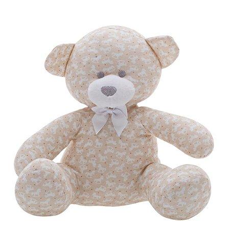Urso Estampado Bege