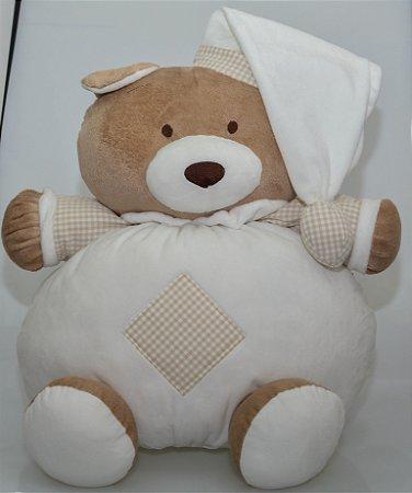 Urso de Pelúcia Nino Cru 46 cm
