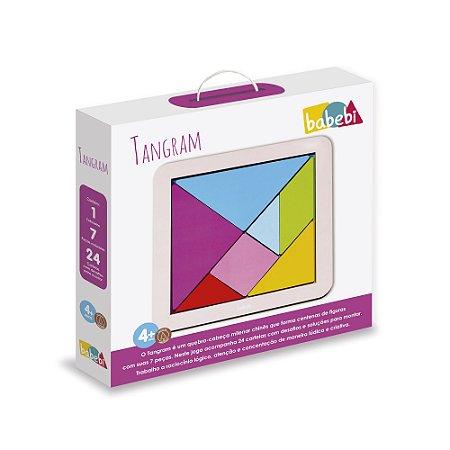 Tangram Colorido BaBeBi (4 anos+)
