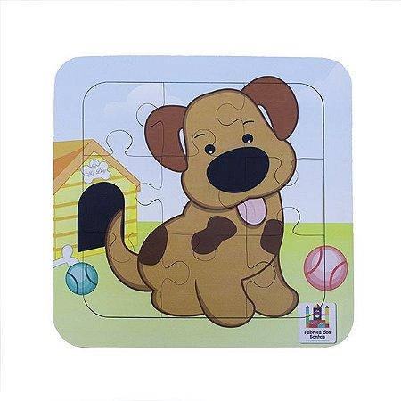 Quebra-Cabeça 9 peças : Cachorro (21 meses)