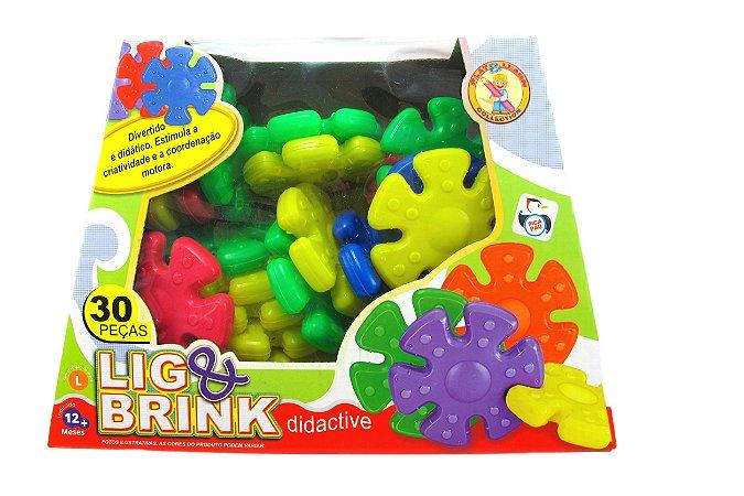 Lig & Brink 30 peças