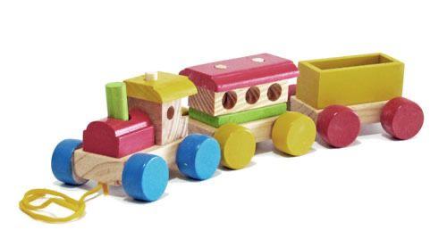 Trem Colorido