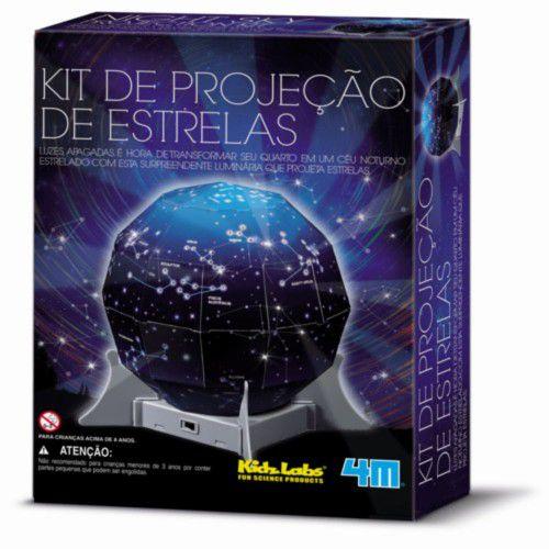 Kit de Projeção de Estrelas (8 anos+)