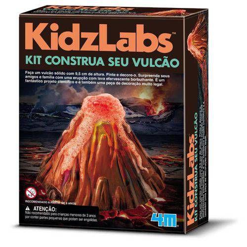 Kit Construa Seu Vulcão (6 anos+)
