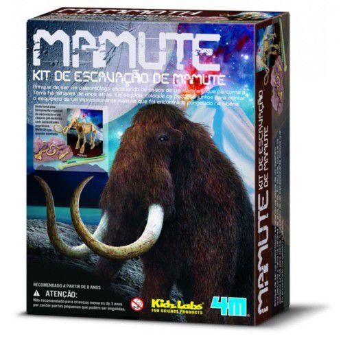 Kit De Escavação - Mamute  (8 anos+)