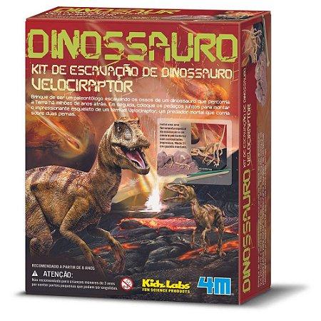 Kit De Escavação - Velociraptor (8 anos+)