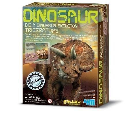 Kit Escavação de Dinossauro - Triceraptor (8 anos+)