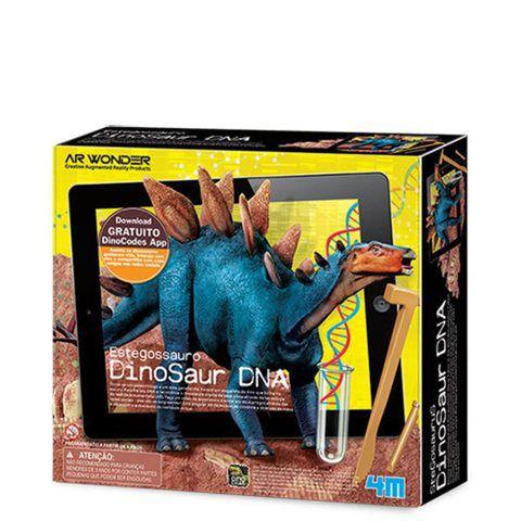 Kit Estegossauro Dino DNA Realidade Aumentada