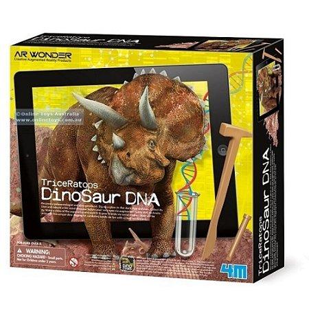 Kit Escavação de Tricerátopo e Realidade Aumentada Dino DNA