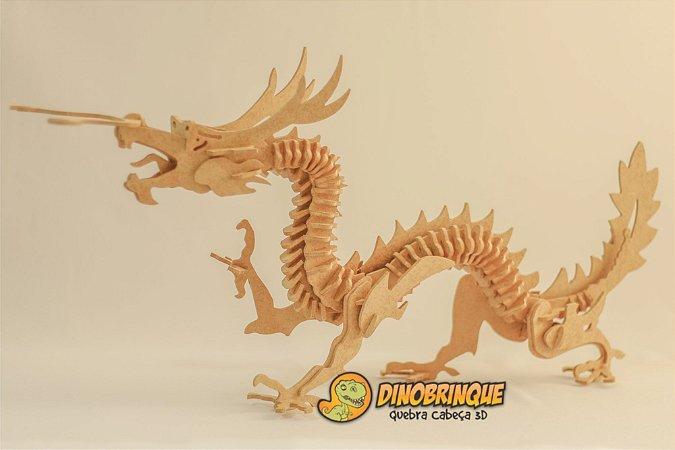Dragão Quebra Cabeça 3D