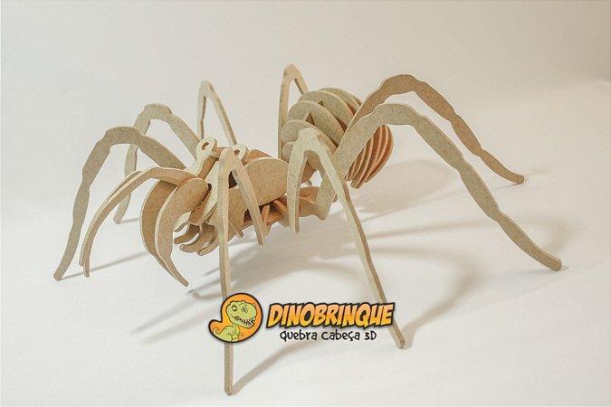 Quebra-cabeça 3D Aranha (6 anos+)
