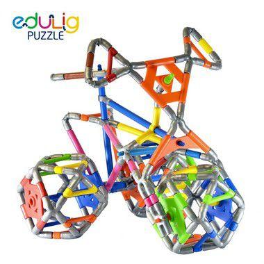 Quebra-cabeça  Triciclo - 120 peças (7 anos+)