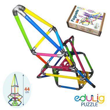 Quebra-cabeça  3D Foguete - 56 peças (7 anos+)