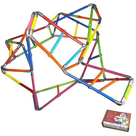 Quebra-cabeça Puzzle 3D Varetas 170 peças