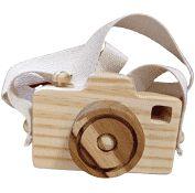 Câmera Fotográfica Lúdica - Alça Cru (3 anos+)