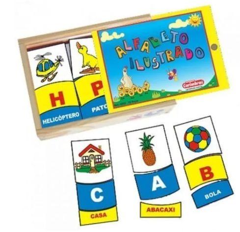 Alfabeto Figuras e Letras (3 anos+)