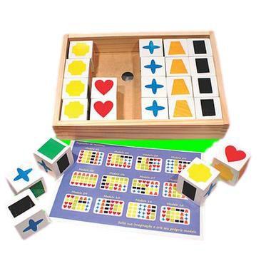Jogo cubos de memória (5 anos+)