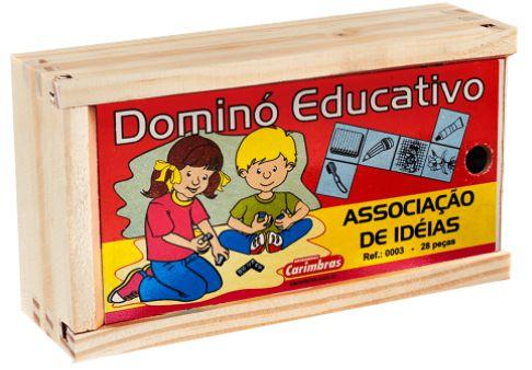 Dominó - Associação de ideias (2 anos +)