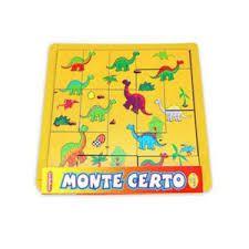 Monte certo - dinossauros