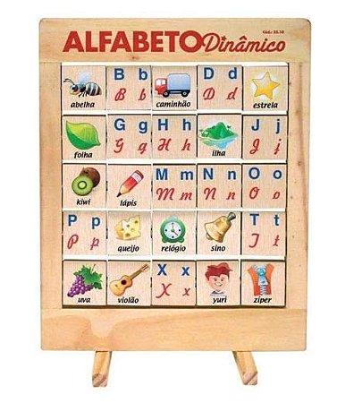 Alfabeto Interativo (4 anos+)