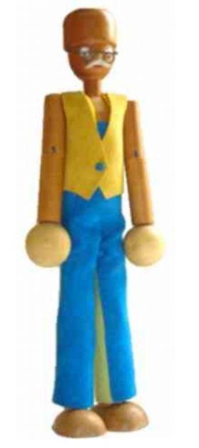 Boneco Kikito: vovô (3 anos+)